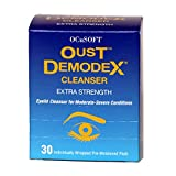 Oust Demodex Cleanser Pre-Moistened Pads 30ct