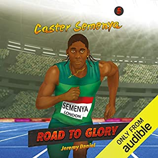 Caster Semenya audiobook cover art