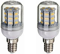 SGJFZD Low Voltage 12V E14 LED Bulb, DC 12V-80V 4W, 260-300lumen 360 Degree for RV Solar Power Light and Off Grid, 2pcs-Pa...