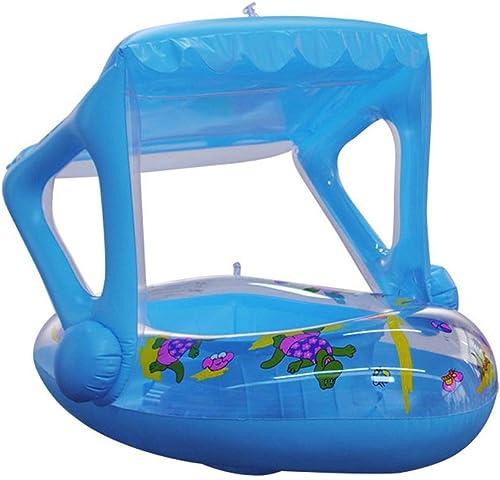 Schwimmen Ring Baby Schwimmen Seat Kinder Montieren Rettungsring Wasser Aufblasbare Spielzeug Nette Blau Creativeswimming Pool HUYP