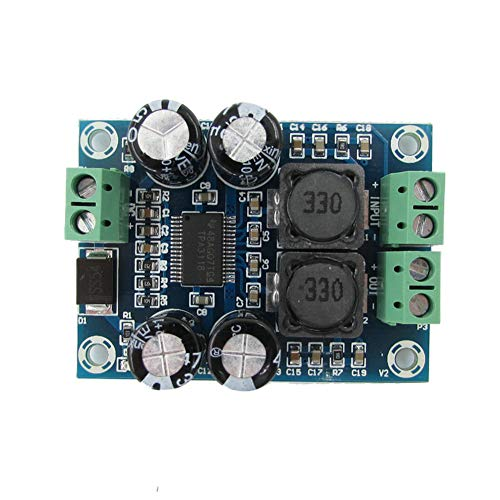 Taidacent XH-M311 Class d monoblock Amplifier Mini Version TPA3118 Digital Audio Amplifier Board Audio Power Amplifier Module Mono 60W
