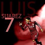 Luis Suarez Poster on Silk/Silk Prints/Wallpaper/Wall Decor