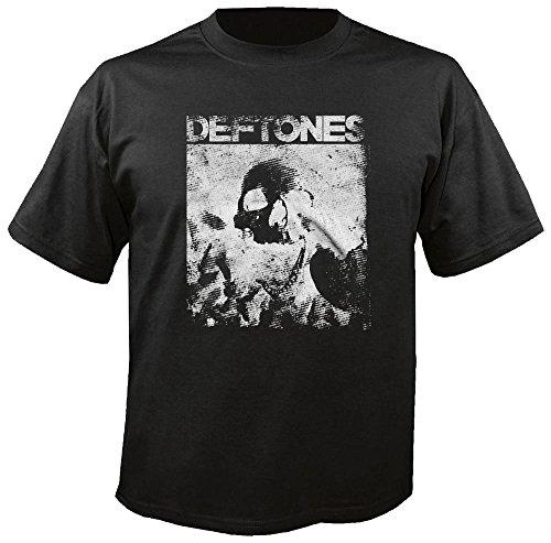 Deftones - Skull - Black - T-Shirt Größe XL