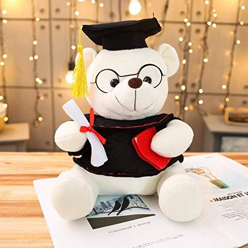 FGBV 18-35 cm Niedliche Dr. Bär Plüschtier-Spielzeug weiche gefüllte Teddybär-Tier-Puppe-Abschlussgeschenk-Home-Dekoration for Kinder Mädchen WJ514-35CM_1_China Manmiao