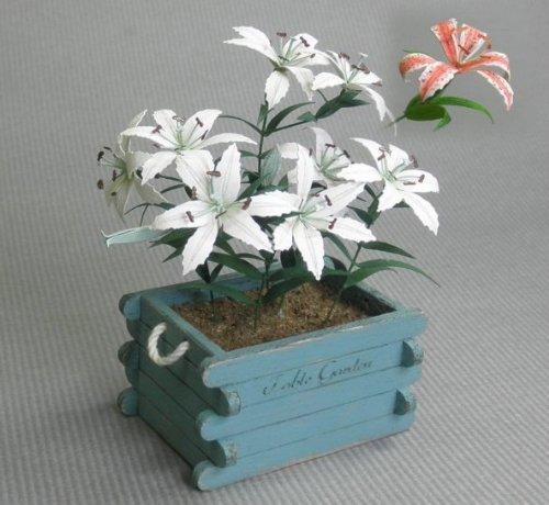 Sum Takumi Table garden series 1/12 Casablanca (japan import)