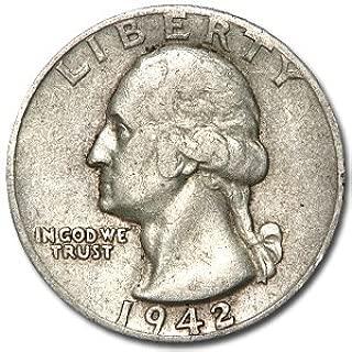 1942 D Washington Quarter Good/VF Quarter Good