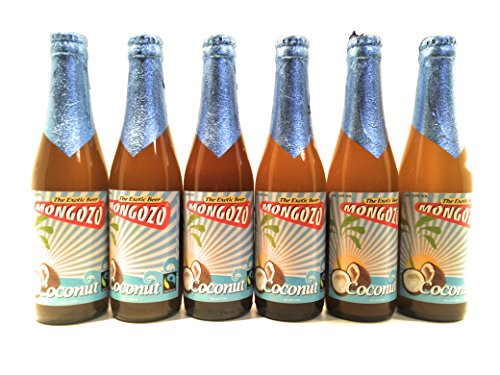 Mongozo Belgisches Bier 0,33l 6er Pack verschiedene Varianten Fair Trade (Coconut / Fairtrade)