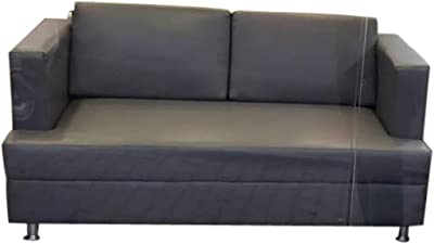Cozylaner Presents Hometown Exclusive Wood Two Seater Sofa Perfect for Living Room