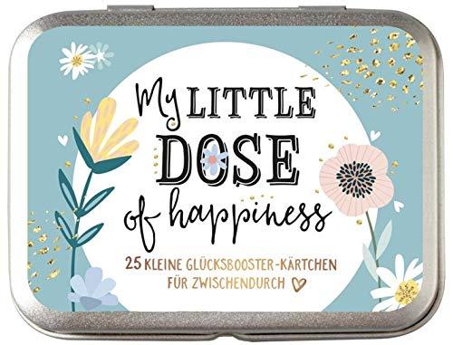 My little dose of happiness: 25 kleine Glücksbooster-Kärtchen für Zwischendurch