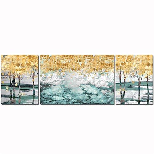 Mr.Zhang's Art Home Painting 40 * 60 * 2.5 cm, 60 * 80 * 2.5 cm Nordique fresque canapé Fond Peinture Murale peintures abstraites