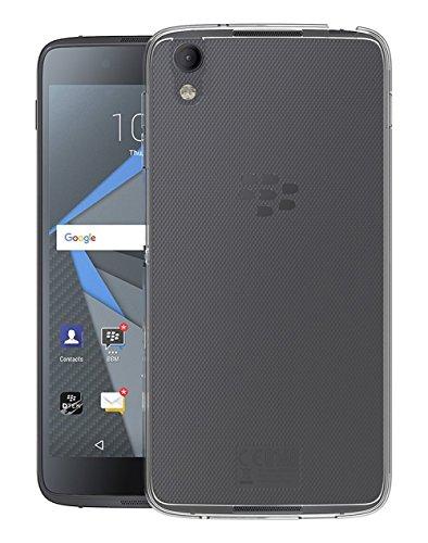 Sunrive Für BlackBerry DTEK50 Hülle Silikon, Transparent Handyhülle Schutzhülle Etui Case Backcover für BlackBerry DTEK50(TPU Kein Bild)+Gratis Universal Eingabestift