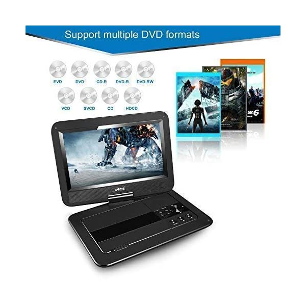 Portable DVD Player with 10.1 Inches LCD Screen 5