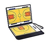 YAMMY Tablero táctico de Pelota de Mano PVC Triple Tablero de orientación de Entrenamiento de Baloncesto Tablero de Entrenamiento de Baloncesto de Cuero magnético (Juego de Mesa)