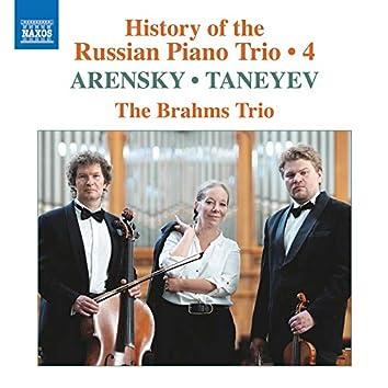 History of the Russian Piano Trio, Vol. 4