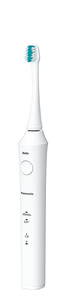 不倫つば平和的パナソニック 電動歯ブラシ ドルツ 白 EW-DA21-W