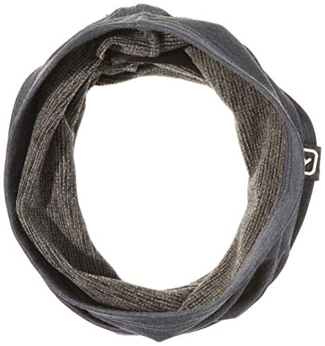 ORTOVOX Light Fleece Neckwarmer, Dark Grey Blend, One Size