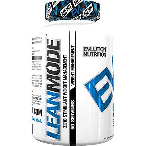 Evlution Nutrition Lean Mode Zero-Stimulant Weight Management Support (50 Servings, Capsules)