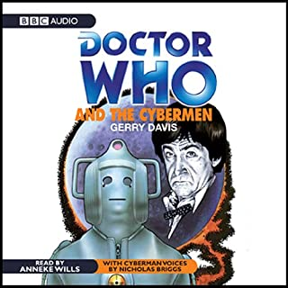Doctor Who and the Cybermen audiobook cover art