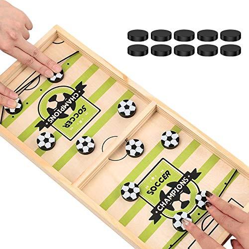 Katapult Brettspiel,Brettspiel Hockey,Bouncing Brettspiel,Tisch Hockey Brettspiel,Fast Sling Puck Game,Puck Spiel Holz,Katapult Schach,Bouncing Chess Hockey Game