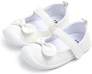 LACOFIA Ballerine bébé Fille Chaussure antidérapants Premier Pas pour bébés