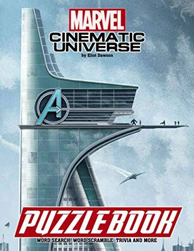 Marvel Cinematic Universe Puzzle Book: An Ideal Book For Fans To Relax And Relieve Stress With Lots Of Fun Games About Marvel Cinematic Universe