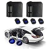 Blaulicht fürs Auto 12V Wireless LED Laser Projektor Universal für Ambientebeleuchtung...