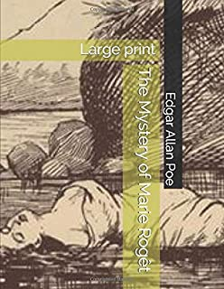 The Mystery of Marie Rogêt: Large print