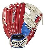 "Mizuno GPP1100Y3MEC Prospect Series PowerClose Baseball Gloves, 11"", Right Hand Throw"