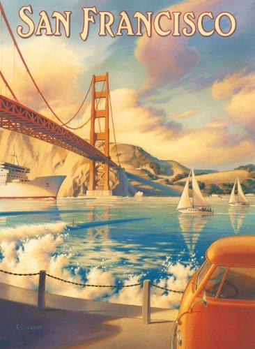 Clementoni Puzzle 39174 - San Francisco  -  1000 pezzi High Quality Collection