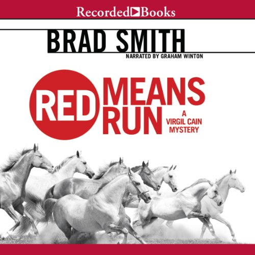 Red Means Run audiobook cover art