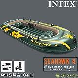 Intex Boot Seahawk 4 con Motore