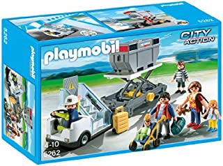 PLAYMOBIL® Aircraft Stairs with Passengers and Cargo