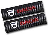 2Pcs Housses Protection De Rembourrage pour Voiture, pour Dacia, Rembourrage Ceinture De Sécurité Coussinets De Couverture Sangle D'épaule Automatique
