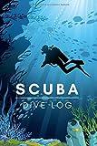 Scuba Dive Log: Divers log book for 100 dives - Scuba Diving Logbook - 6x9