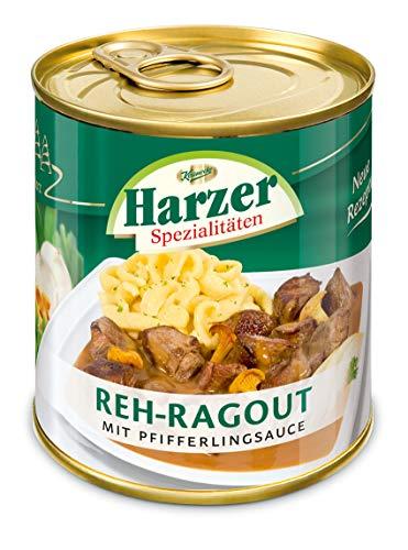 HARZER Reh Ragout mit Pfifferlingsauce 1x 300g