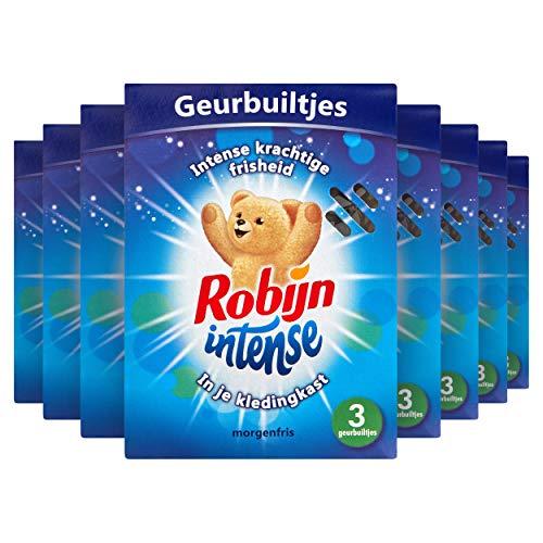 Robijn Intense Geurbuiltjes 8 x 3 stuks Voordeelverpakking