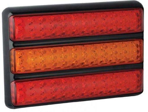 Triple Slim-Line Combinaison lampe 200barrme