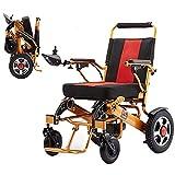 Sillas de ruedas eléctricas CHHD, silla de ruedas eléctrica portátil plegable, scooter de silla de ruedas eléctrica portátil ligera, batería de iones de litio de 24V 20Ah, silla de ruedas eléctrica de