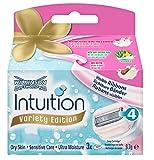 Wilkinson Sword Intuition Summer Variaty Rasierklingen, für Damen Rasierer, 3 St -