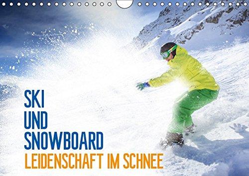 Ski und Snowboard - Leidenschaft im Schnee (Wandkalender 2019 DIN A4 quer): Ein ganzes Jahr lang das Hochgefühl des Wintersports (Geburtstagskalender, 14 Seiten )