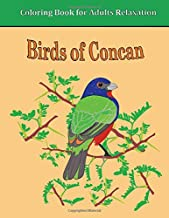 Birds of Concan: Coloring Book for Adults Relaxation