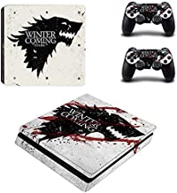 BALAKRISHNA THAKUR PS4 Slim Skin and DualShock 4 Skin - Thrones - PlayStation 4 Slim Vinyl Sticker for Console and Controller Skin