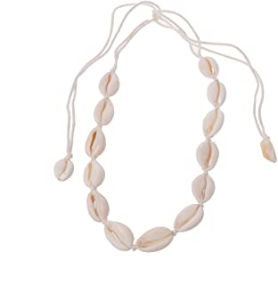 Kingrock Pendant Necklace Choker For Women natural Summer Beach Shell Handmade Hawaii Wakiki Boho Girlfriend Gift