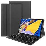 VOVIPO Funda con teclado para Lenovo Tab M10 FHD Plus (2ª generación) de 10,3 pulgadas, diseño italiano de piel sintética con teclado extraíble inalámbrico para Lenovo Tab M10 Plus FHD TB-X606