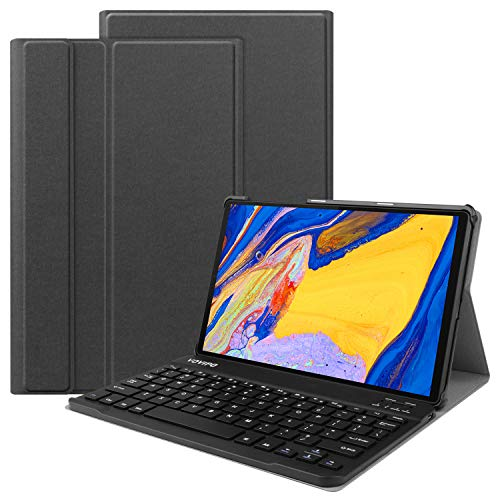 VOVIPO Tastiera Custodia per Lenovo Tab M10 FHD Plus (2nd Gen) 10.3 inch, Layout Italiano Pelle PU Custodia con Rimovibile Wireless Keyboard Tastiera per Lenovo Tab M10 plus FHD TB-X606