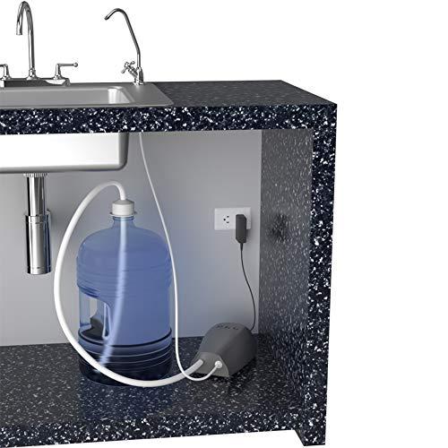 Dispensador automático de garrafón con llave de tarja