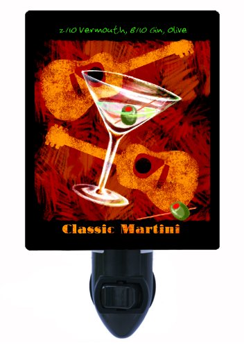 Kitchen and Bar Night Light, Classic Martini