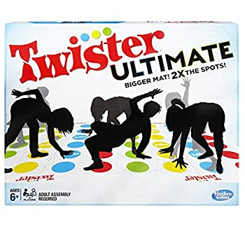 Twister Ultimate  Bigger Mat More Colored Spots Family Kids Party Game Age 6+  Compatible with Alexa  Amazon Exclusive