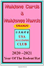 USAMJC 2020 Mahjong Cards &Mahjongg Hands -- year of the rodent/rat :: paperback with scorecards to learn & win (#4718)