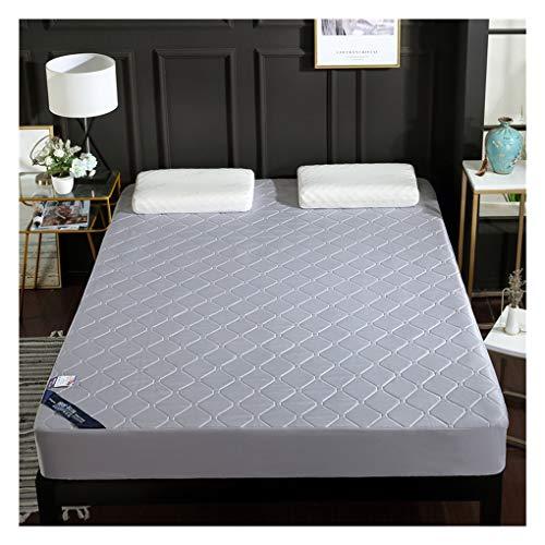 WYJHNL matrashoes Queen matrasbeschermer met gestikte matrasovertrek van natuurlatex, 30cm premium matrasbeschermer met diepe zak 120x200cm(47x79